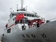 """追踪""""向阳红10""""科考船:需时刻与恶劣天气过招 - 科技 - 东南网"""